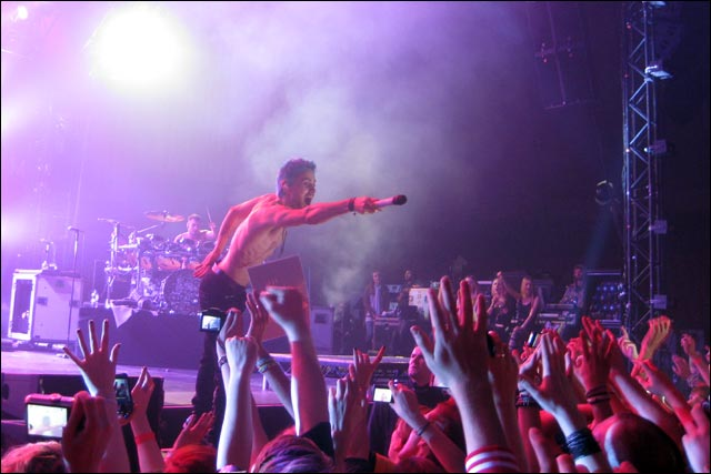 concert live 30 Seconds To Mars Basel Bale photo video hd