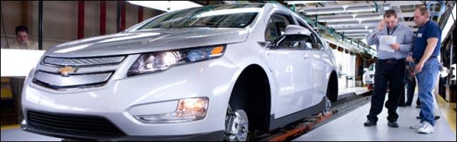 Chevrolet Volt hybride ecologie General Motors