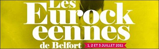 programmation complet officiel Festival Eurockeennes Belfort Eurocks