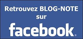 page officielle Facebook Blog-Note Blog Note rejoignez blognote