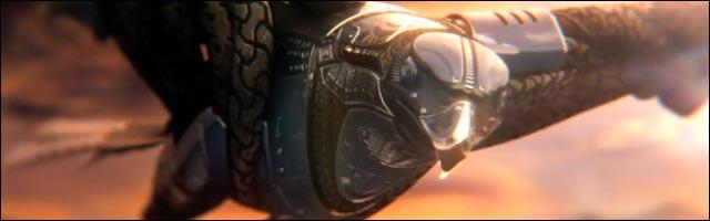 Shape Shifter aigle video hd animation 3D