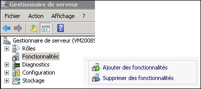 installer Windows Server Backup 2008 R2 tutoriel francais