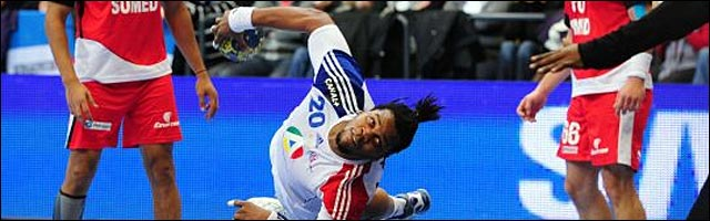 handball acrobate action offensive photo mondial 2011 France