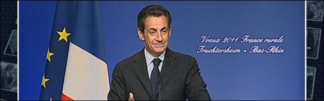 Nicolas Sarkozy lapsus confusion Alsace Allemagne