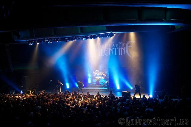 BMFV photo concert live Bullet For My Valentine Fever tour