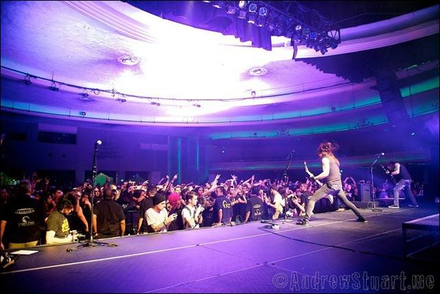 BMFV photo concert live Bullet For My Valentine Fever tour