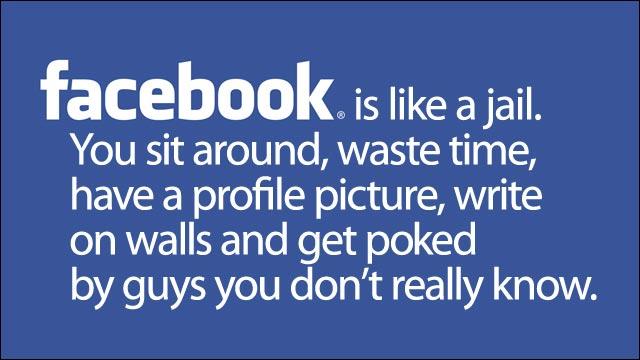 Facebook prison mur barreau photo profil