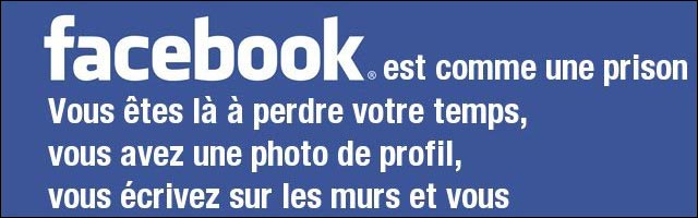 Facebook prison mur barreau photo profil