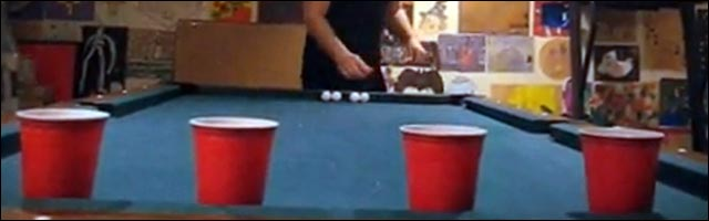 beer pong jeu drole bourre saoul ping pong alcool video best of trick