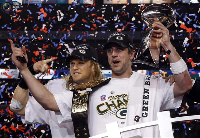 photo pix Super Bowl XLV 2011 Green Bay Packers winners pictures