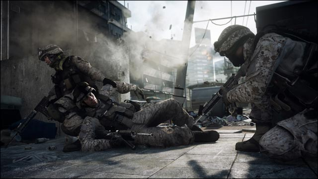 Battlefield 3 jeu video gameplay full hd preview BF3
