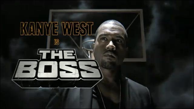 video hd basket publicite Nike Black Mamba Kayne Kanye West Boss