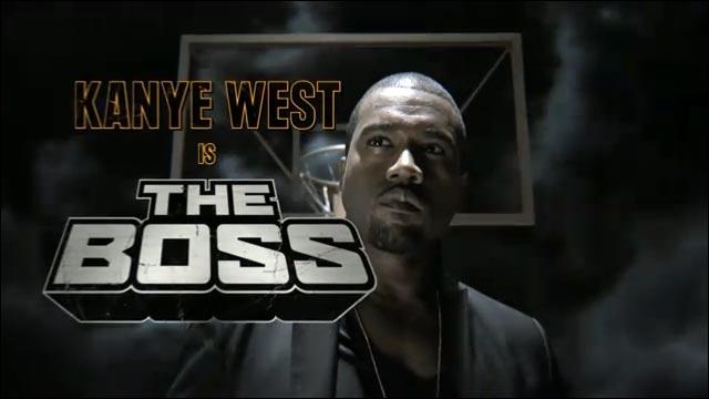 video hd basket publicite Nike Black Mamba Kayne Kanye West Boss