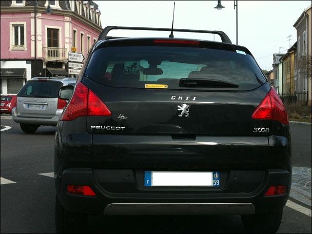 photo Peugeot 3008 GTI CHTI ch'ti Lille Nord pas de calais 59