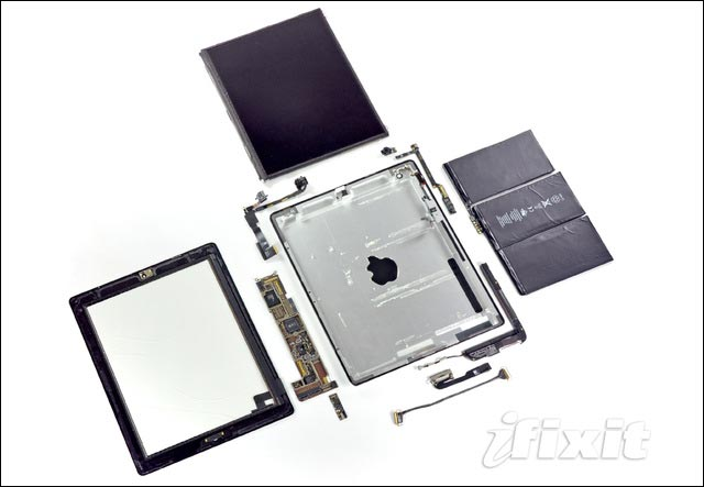 tutoriel photo demonter apple iPad 2 comment reparer pas cher