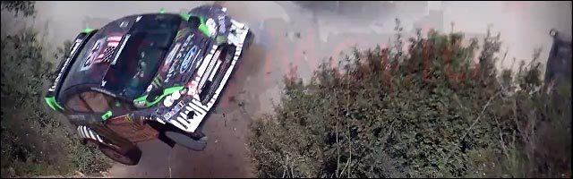 Ken Block video crash rallye portugal 2011 Ford Fiesta RS WRC photo