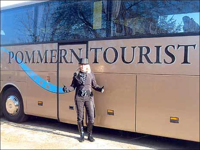 Pommern Tourist compagnie voyage bus Allemagne buzz failed
