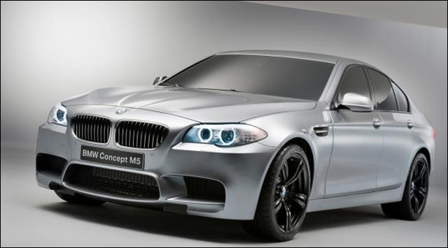 photo BMW M5 Concept 2011 moteur V8 twin turbo 560ch berline break