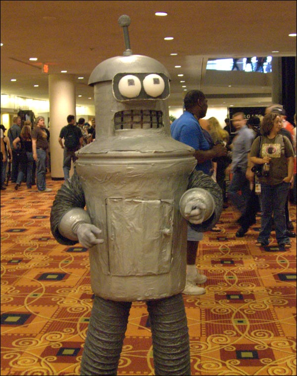 photo robot Futurama Bender deguisement costume carnaval