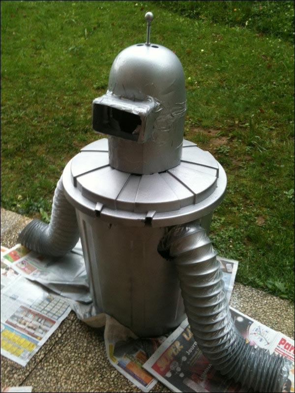 robot Futurama Bender deguisement costume carnaval idee pas cher