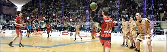 Handball demi finale Coupe de France Mulhouse MSHA Chambery video hd