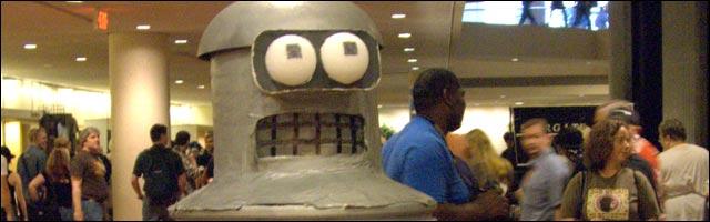 deguisement carnaval costume fait maison Bender Futurama Dr Zoilberg