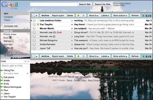 tutoriel installer fond ecran gmail wallpaper configurer parametrer