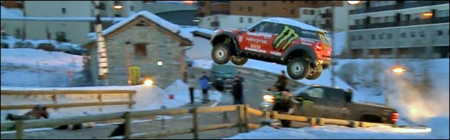 video hd mini cooper neige all4 rider ken block photo