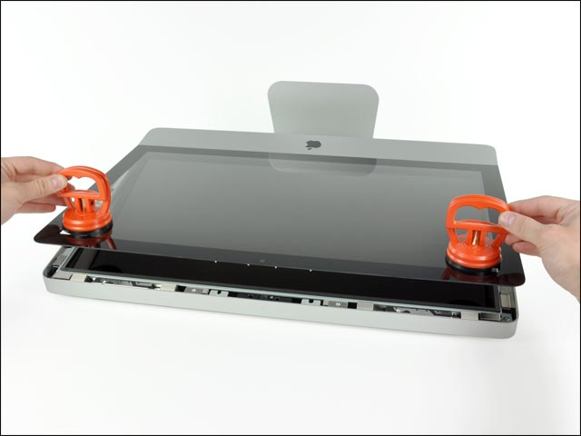 photo demontage ifixit Apple iMac 20 21 24 27 pouces reparer pas cher