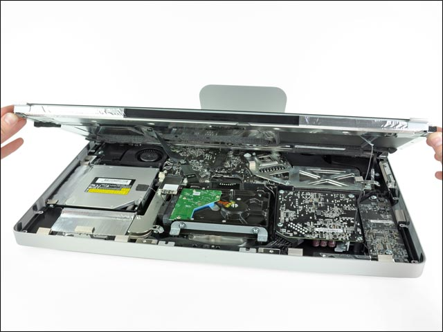photo demontage ifixit reparation Apple iMac occasion pas cher
