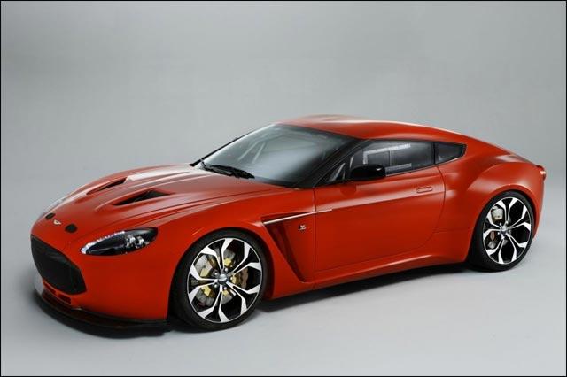 Aston Martin V12 Vantage Vanquish Zagato 2010 version course prix