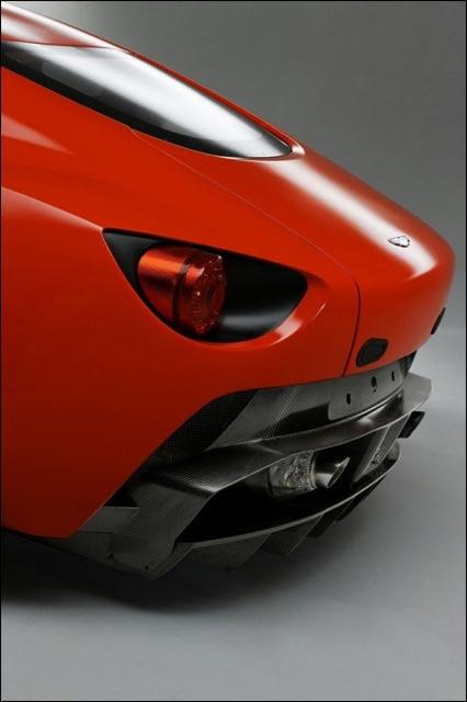 Aston Martin V12 Zagato Milano echappement libre spoiler prix occasion pas cher