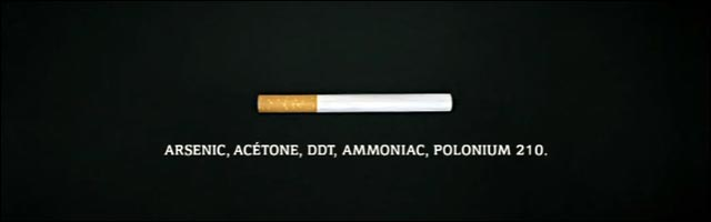 DNF video publicite campagne anti tabac clope cigarette dangereux sante