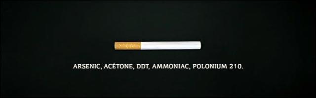 DNF video publicite campagne anti tabac clope cigarette dangereux sante