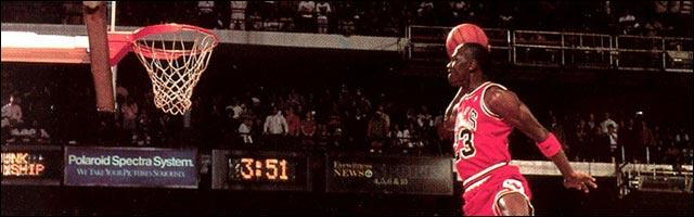 video Michael Jordan best of MJ23 Chicago Bulls slam dunk NBA