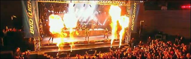 video hd Rammstein Du hast live Jimmy Kimmer show concert gratuit