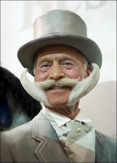 championnat du monde moustache barbe bouc photo video hd insolite