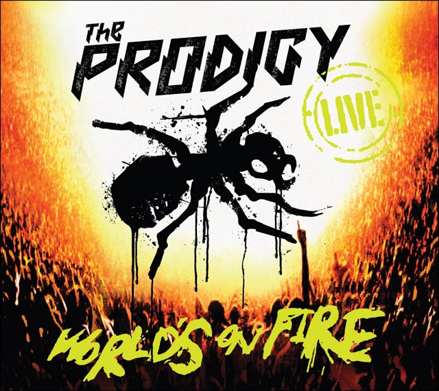 video The Prodigy live Worlds on fire photo pochette hd album concert