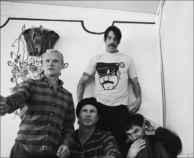 RHCP Red Hot Chili Peppers membres 2011 Josh Klinghoffer nouveau guitariste