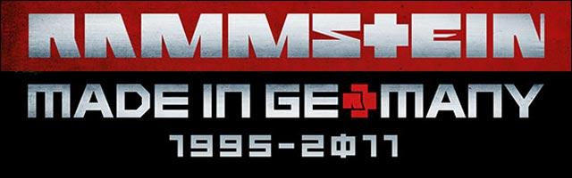 Rammstein Made in Germany 1995 2011 album best of live tournee concert