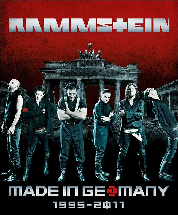 Rammstein Made in Germany 1995 2011 album best of live tournee concert