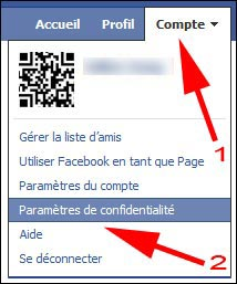Facebook tutoriel changer reglage securite parametre confidentialite guide