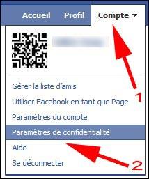Facebook tutoriel changer reglage securite parametre confidentialite guide