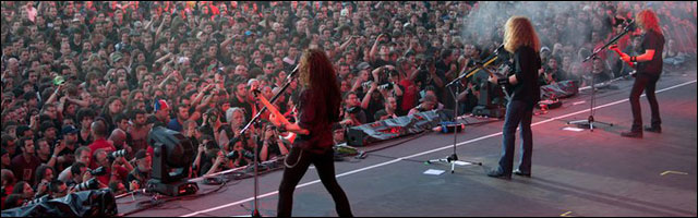 Megadeth concert Sonisphere Festival 2011 photo hd live