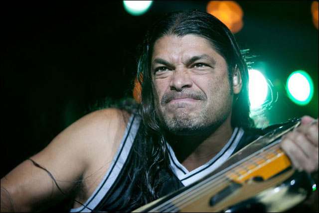 photo hd Metallica Robert Trujillo live concert Sonisphere Festival 2011 France