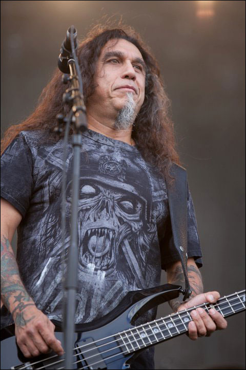 photo hd live Tom Araya concert Slayer Sonisphere Festival 2011 France