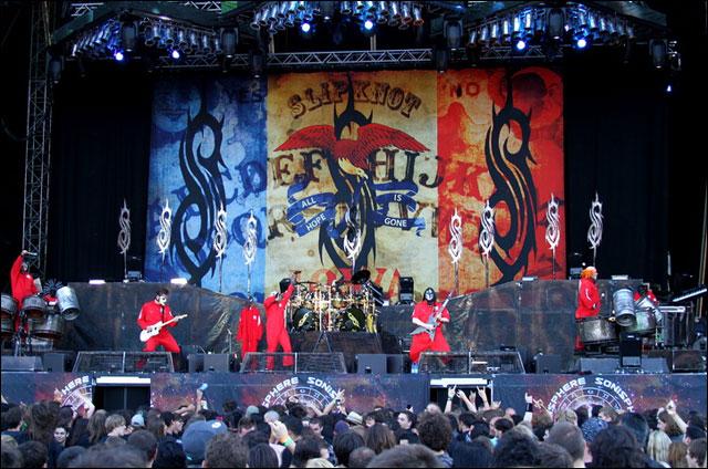Slipknot live Sonisphere Switzerland photo hq concert video hd fosse vip scheiss