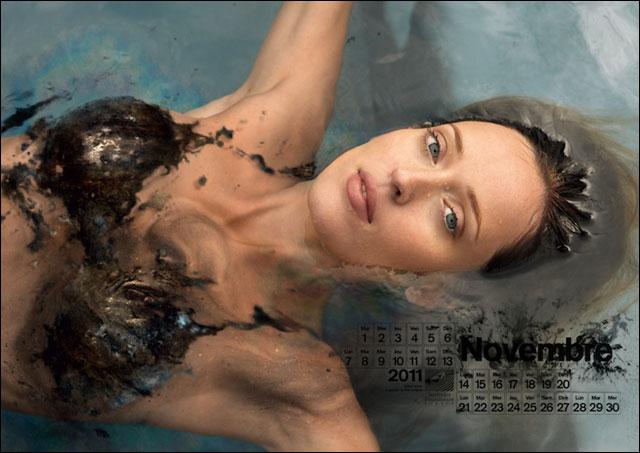 photo calendrier sexy fille bikini plage de reve caraibes maillot de bain ou nue
