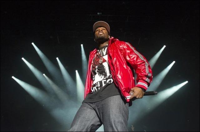 photo hd concert 50 Cent live Foire aux Vins Colmar Alsace 2011 France
