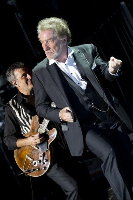 photo hd concert Eddy Mitchell Foire aux Vins 2011 Colmar Alsace FAV Schmoll